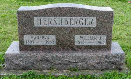 HERSHBERGER, WILLIAM JAMES - Holmes County, Ohio | WILLIAM JAMES HERSHBERGER - Ohio Gravestone Photos