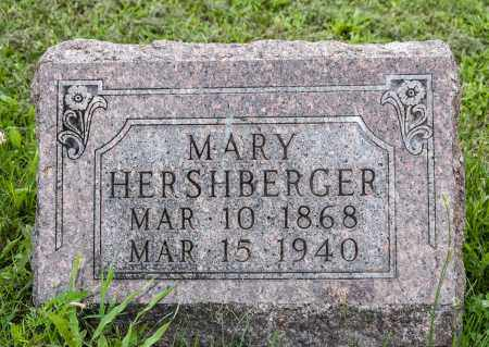 HERSHBERGER, MARY - Holmes County, Ohio   MARY HERSHBERGER - Ohio Gravestone Photos