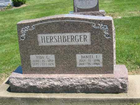 HERSHBERGER, DANIEL I - Holmes County, Ohio | DANIEL I HERSHBERGER - Ohio Gravestone Photos