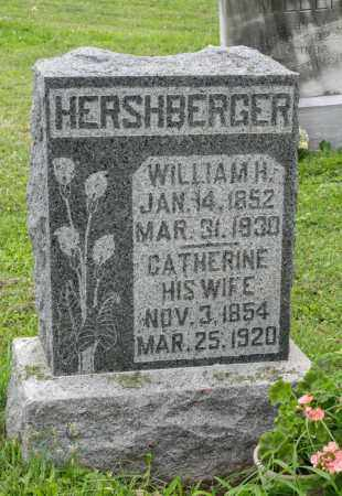 WEAVER HERSHBERGER, CATHERINE - Holmes County, Ohio | CATHERINE WEAVER HERSHBERGER - Ohio Gravestone Photos