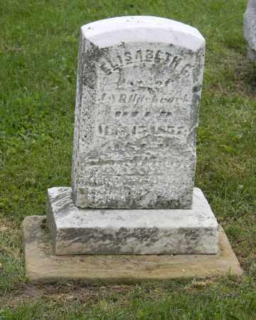 HITCHCOCK, ELISABETH G - Holmes County, Ohio | ELISABETH G HITCHCOCK - Ohio Gravestone Photos