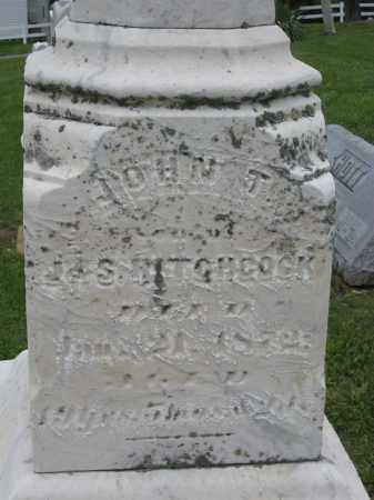 HITCHCOCK, JOHN T - Holmes County, Ohio   JOHN T HITCHCOCK - Ohio Gravestone Photos