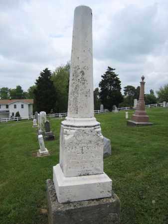 HITCHCOCK MONUMENT, JOHN T. - OVERALL VIEW - Holmes County, Ohio | JOHN T. - OVERALL VIEW HITCHCOCK MONUMENT - Ohio Gravestone Photos
