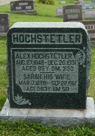 HOCHSTETLER, ALEXANDER - Holmes County, Ohio | ALEXANDER HOCHSTETLER - Ohio Gravestone Photos