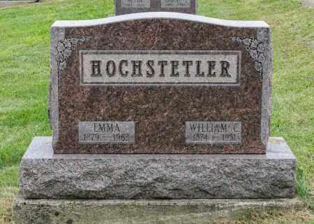 HILL HOCHSTETLER, EMMA - Holmes County, Ohio | EMMA HILL HOCHSTETLER - Ohio Gravestone Photos