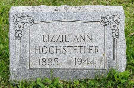 HOCHSTETLER, LIZZIE ANN - Holmes County, Ohio | LIZZIE ANN HOCHSTETLER - Ohio Gravestone Photos