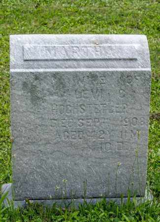 WEAVER HOCHSTETLER, MARTHA - Holmes County, Ohio | MARTHA WEAVER HOCHSTETLER - Ohio Gravestone Photos