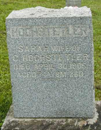 GERBER HOCHSTETLER, SARAH - Holmes County, Ohio | SARAH GERBER HOCHSTETLER - Ohio Gravestone Photos