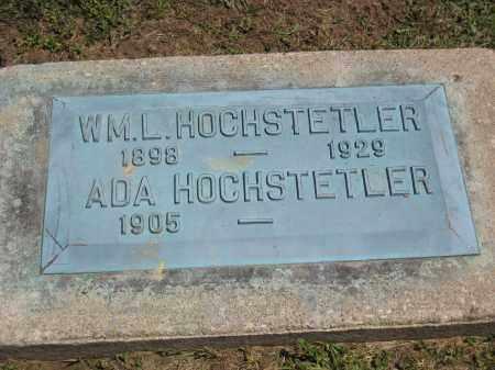 HOCHSTETLER, WM. L. - Holmes County, Ohio | WM. L. HOCHSTETLER - Ohio Gravestone Photos