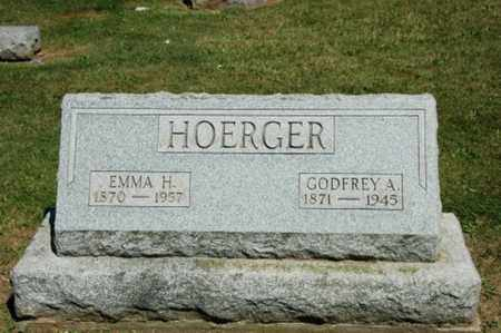 SCHMIDT HOERGER, EMMA - Holmes County, Ohio | EMMA SCHMIDT HOERGER - Ohio Gravestone Photos