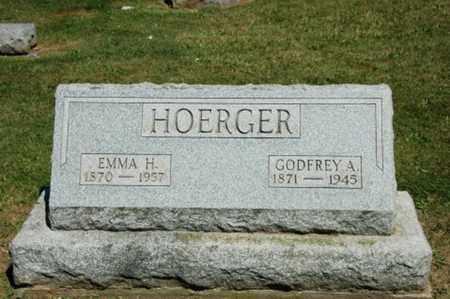 HOERGER, GODFREY A. - Holmes County, Ohio   GODFREY A. HOERGER - Ohio Gravestone Photos
