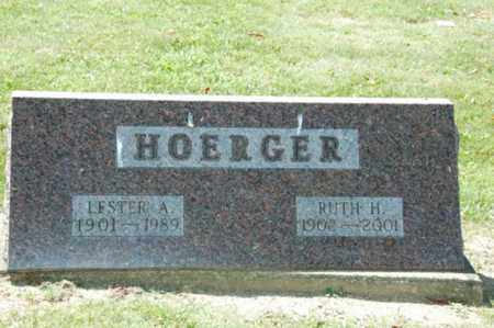 HOERGER, LESTER ARTHUR - Holmes County, Ohio | LESTER ARTHUR HOERGER - Ohio Gravestone Photos