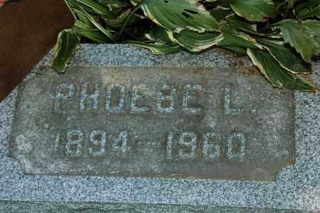 HOERGER, PHOEBE LUELLA - Holmes County, Ohio | PHOEBE LUELLA HOERGER - Ohio Gravestone Photos