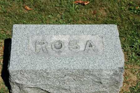 HOERGER, ROSA - Holmes County, Ohio | ROSA HOERGER - Ohio Gravestone Photos