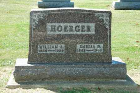 HOERGER, WILLIAM A. - Holmes County, Ohio | WILLIAM A. HOERGER - Ohio Gravestone Photos