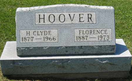 HOOVER, FLORENCE - Holmes County, Ohio | FLORENCE HOOVER - Ohio Gravestone Photos