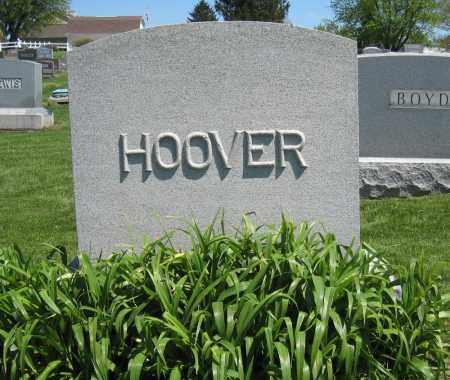 HOOVER, MONUMENT - Holmes County, Ohio   MONUMENT HOOVER - Ohio Gravestone Photos