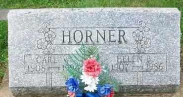 HORNER, CARL W. - Holmes County, Ohio   CARL W. HORNER - Ohio Gravestone Photos
