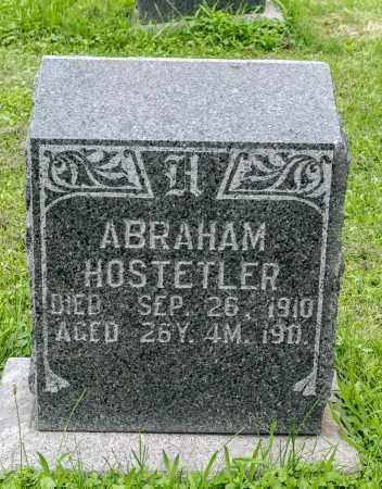 HOSTETLER, ABRAHAM - Holmes County, Ohio | ABRAHAM HOSTETLER - Ohio Gravestone Photos