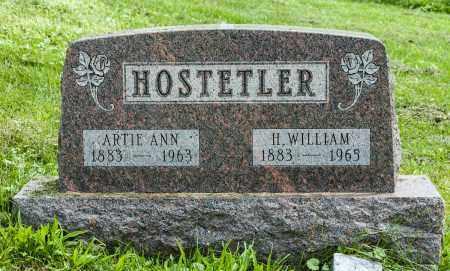 HOSTETLER, H. WILLIAM - Holmes County, Ohio   H. WILLIAM HOSTETLER - Ohio Gravestone Photos