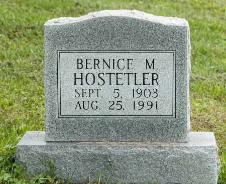 HOSTETLER, BERNICE M. - Holmes County, Ohio | BERNICE M. HOSTETLER - Ohio Gravestone Photos