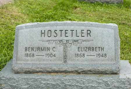 HOSTETLER, ELIZABETH - Holmes County, Ohio | ELIZABETH HOSTETLER - Ohio Gravestone Photos
