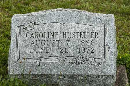 HOSTETLER, CAROLINE - Holmes County, Ohio | CAROLINE HOSTETLER - Ohio Gravestone Photos