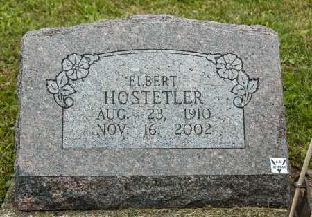 HOSTETLER, ELBERT - Holmes County, Ohio | ELBERT HOSTETLER - Ohio Gravestone Photos