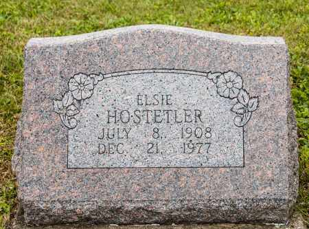 HOSTETLER, ELSIE - Holmes County, Ohio   ELSIE HOSTETLER - Ohio Gravestone Photos