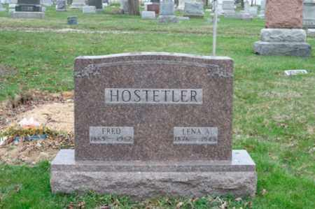 HOSTETLER, FRED - Holmes County, Ohio   FRED HOSTETLER - Ohio Gravestone Photos
