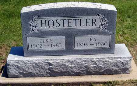 HOSTETLER, ELSIE - Holmes County, Ohio | ELSIE HOSTETLER - Ohio Gravestone Photos