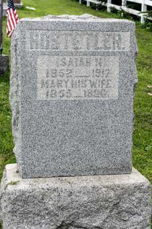 HOSTETLER, MARY - Holmes County, Ohio   MARY HOSTETLER - Ohio Gravestone Photos