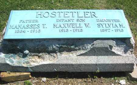 HOSTETLER, MAXWELL W. - Holmes County, Ohio | MAXWELL W. HOSTETLER - Ohio Gravestone Photos