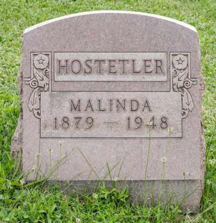 HOSTETLER, MALINDA - Holmes County, Ohio | MALINDA HOSTETLER - Ohio Gravestone Photos