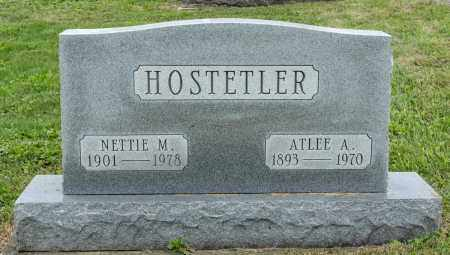 HOSTETLER, NETTIE M. - Holmes County, Ohio | NETTIE M. HOSTETLER - Ohio Gravestone Photos