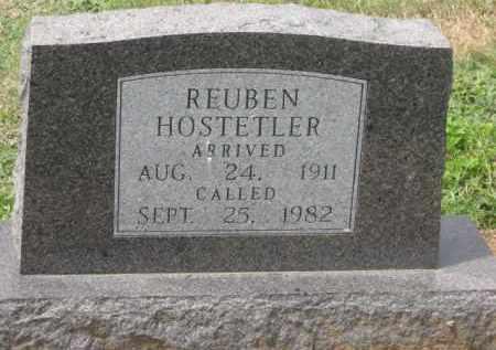 HOSTETLER, RUBEN - Holmes County, Ohio | RUBEN HOSTETLER - Ohio Gravestone Photos