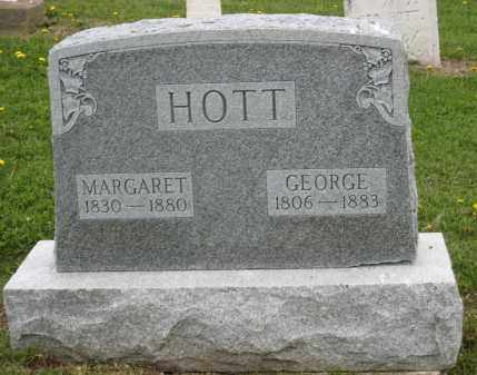 HOTT, GEORGE - Holmes County, Ohio | GEORGE HOTT - Ohio Gravestone Photos