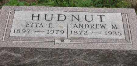 HUDNUT, ANDREW M. - Holmes County, Ohio | ANDREW M. HUDNUT - Ohio Gravestone Photos
