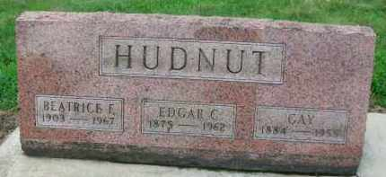 HUDNUT, EDGAR C. - Holmes County, Ohio | EDGAR C. HUDNUT - Ohio Gravestone Photos