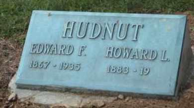 HUDNUT, EDWARD FRANKLIN - Holmes County, Ohio | EDWARD FRANKLIN HUDNUT - Ohio Gravestone Photos