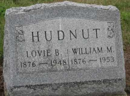 HUDNUT, WILLIAM M. - Holmes County, Ohio | WILLIAM M. HUDNUT - Ohio Gravestone Photos