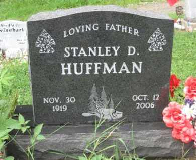 HUFFMAN, STANLEY D. - Holmes County, Ohio   STANLEY D. HUFFMAN - Ohio Gravestone Photos