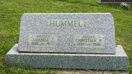 HUMMEL, AMANDA JANE - Holmes County, Ohio | AMANDA JANE HUMMEL - Ohio Gravestone Photos