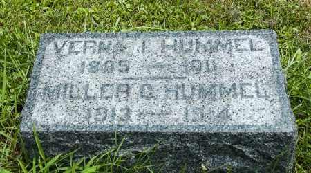 HUMMEL, MILLER CHRISTIAN - Holmes County, Ohio | MILLER CHRISTIAN HUMMEL - Ohio Gravestone Photos