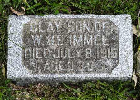 IMMEL, CLAY - Holmes County, Ohio   CLAY IMMEL - Ohio Gravestone Photos