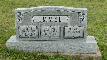 MILLER IMMEL, RUBY L. - Holmes County, Ohio | RUBY L. MILLER IMMEL - Ohio Gravestone Photos