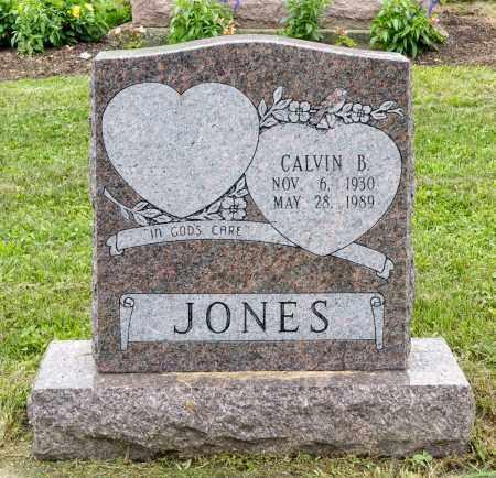 JONES, CALVIN B. - Holmes County, Ohio | CALVIN B. JONES - Ohio Gravestone Photos