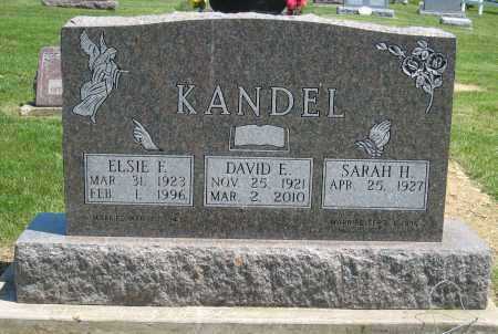 KANDEL, ELSIE - Holmes County, Ohio | ELSIE KANDEL - Ohio Gravestone Photos
