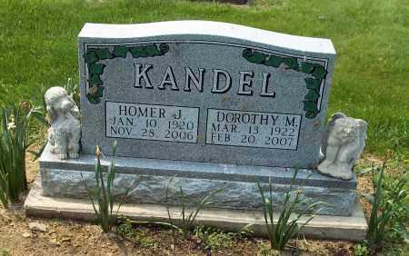 KANDEL, DOROTHY M - Holmes County, Ohio | DOROTHY M KANDEL - Ohio Gravestone Photos
