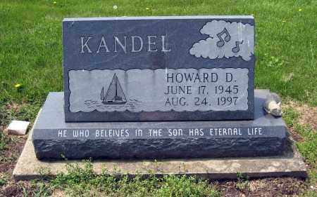 KANDEL, HOWARD D. - Holmes County, Ohio | HOWARD D. KANDEL - Ohio Gravestone Photos